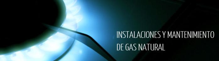 instalacion y mantenimiento de gas natural
